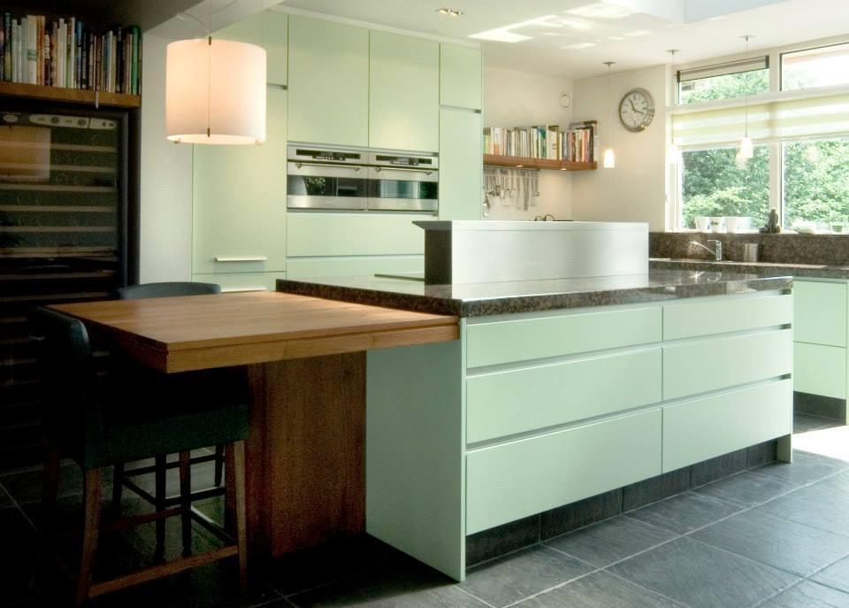 Mintgroen keuken accessoires stoere diy mintgroene keuken
